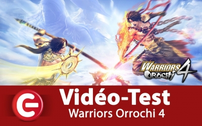 Test vidéo [Vidéo Test] Warriors Orochi 4, On a aimé !