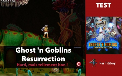 Test vidéo [TEST] Ghost 'n Goblins Resurrection sur Switch - Hard, mais tellement bon !