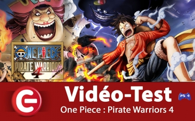 Test vidéo [VIDEO TEST] One Piece : Pirate Warriors 4 sur PS4 !