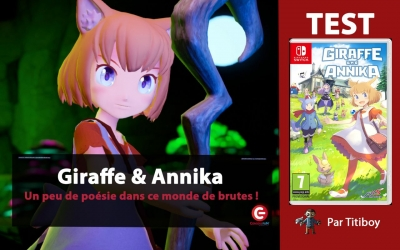 Test vidéo [VIDEO TEST] Giraffe and Annika sur Nintendo Switch !