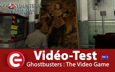 Test vidéo [VIDEO TEST] Ghostbusters : The Video Game Remastered, le meilleur des SOS Fantôme !?