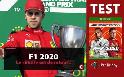 Test vidéo [TEST] F1 2020 sur PS4, Xbox One - Champion du monde, merci Codemasters !!!!