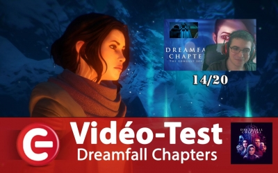Test vidéo Vidéo Test : Dreamfall Chapters, la conclusion honorable d'une trilogie !