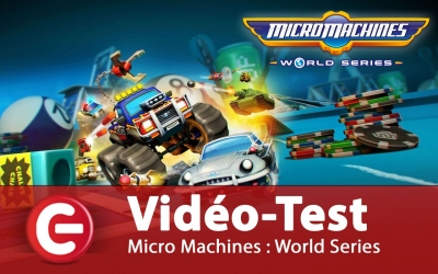Test vidéo Vidéo-Test : Micro Machines World Series - PS4 / One / PC