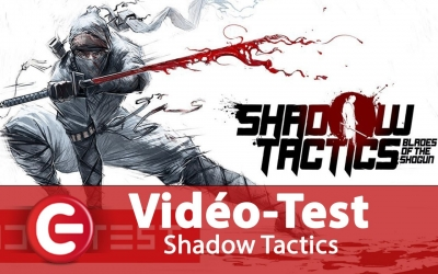 Test vidéo Shadow Tactics : Blade Of The Shogun - Test de la version PS4 / One