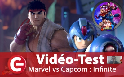 Test vidéo [Vidéo-Test] Marvel vs Capcom Infinite, Baston spéctacle ?