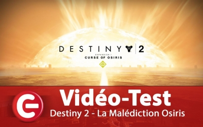 Test vidéo [Vidéo Test] Destiny 2 - DLC La Malédiction d'Osiris