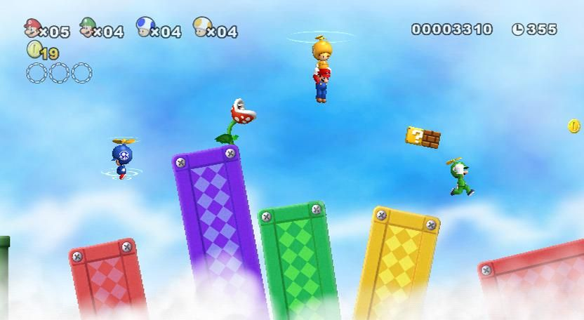 New Super Mario Bros Wii pour le 27/11