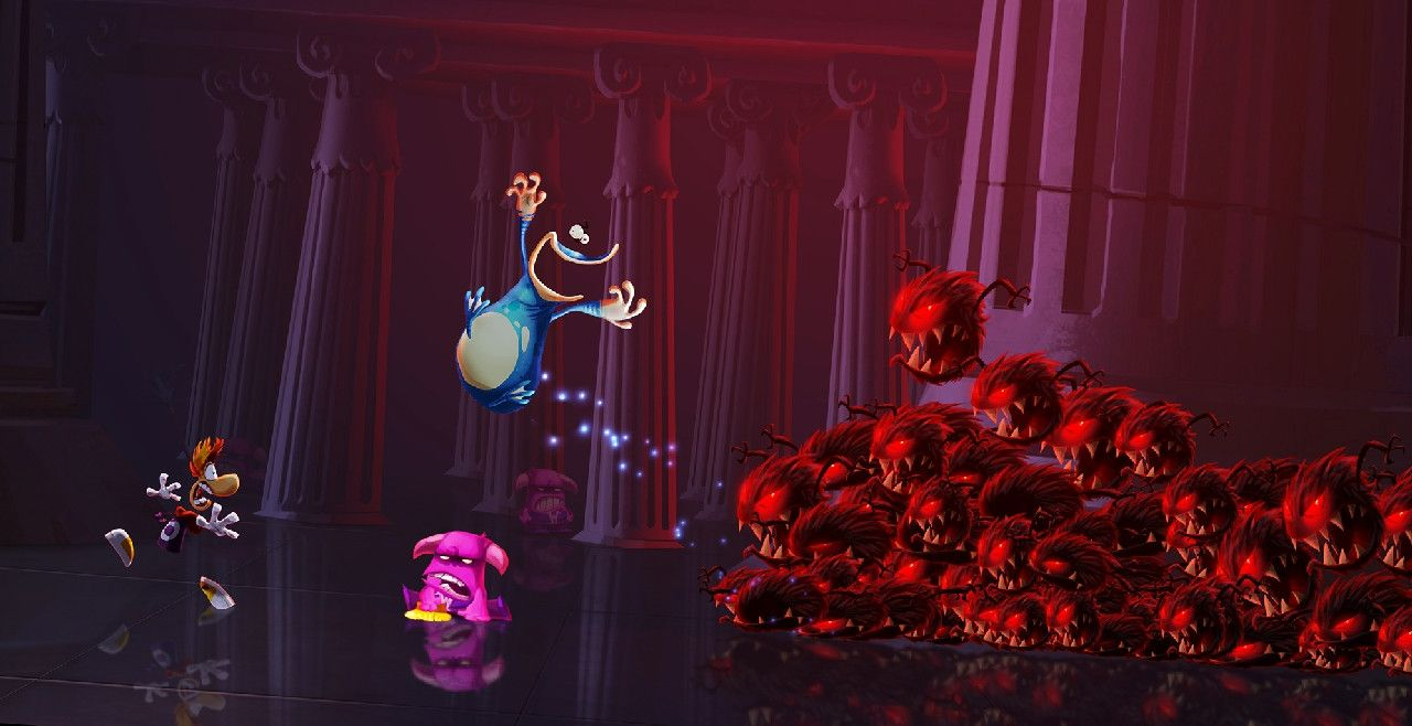 Rayman Legends : Version WII U contenant des bonus !