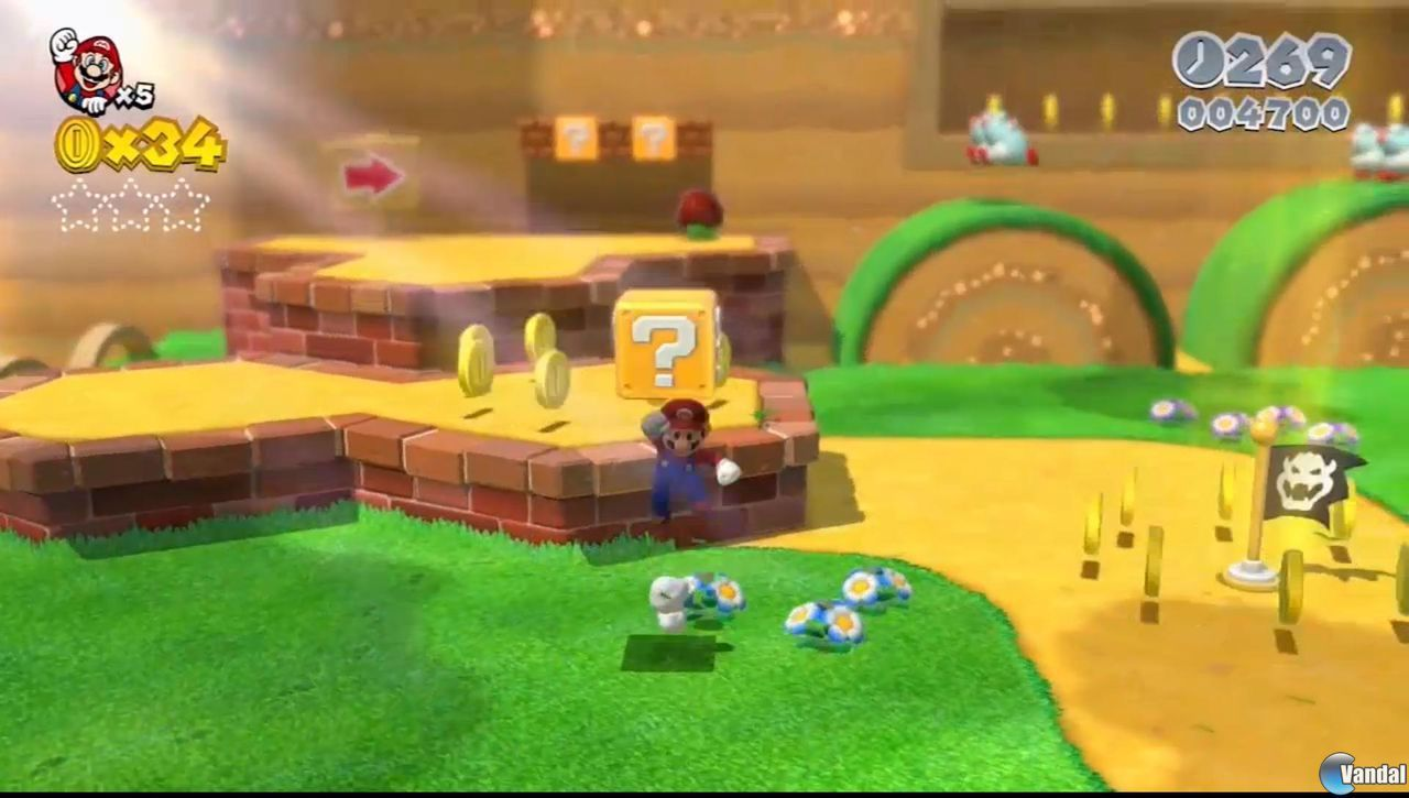 Super Mario 3D World : Le trailer HD !