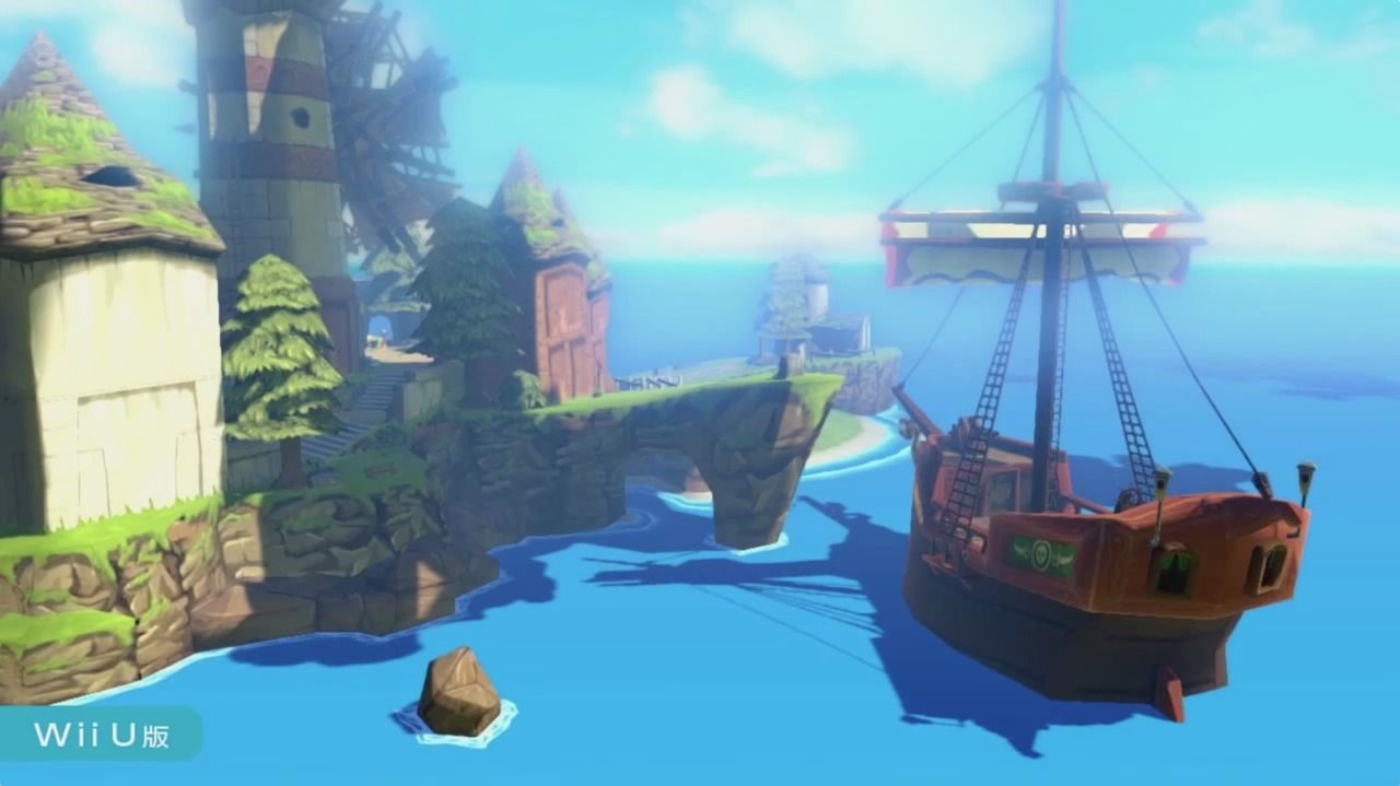 The Legend of Zelda - The Wind Waker HD : infos et jaquettes