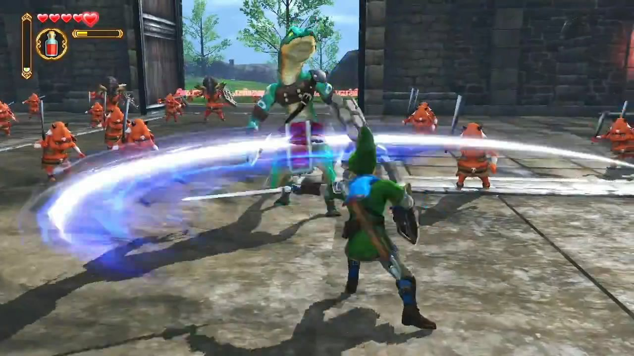 Hyrule Warriors : Link se met au beat'em all