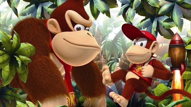 Donkey Kong Country Tropical Freeze - La tonne d'images