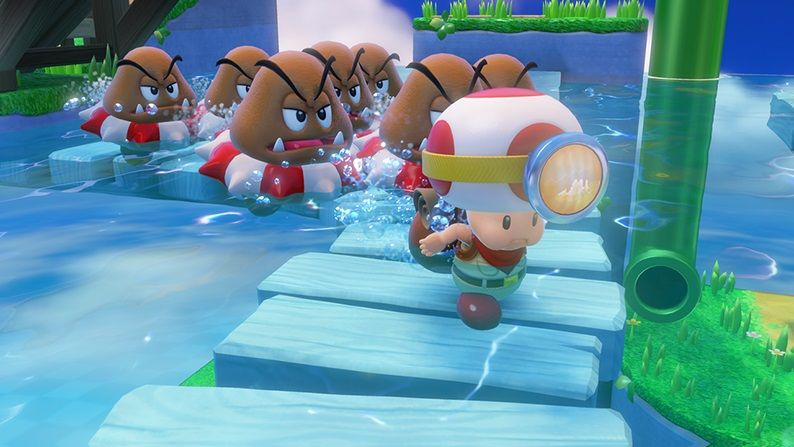 Captain Toad : Des images made in Nintendo !