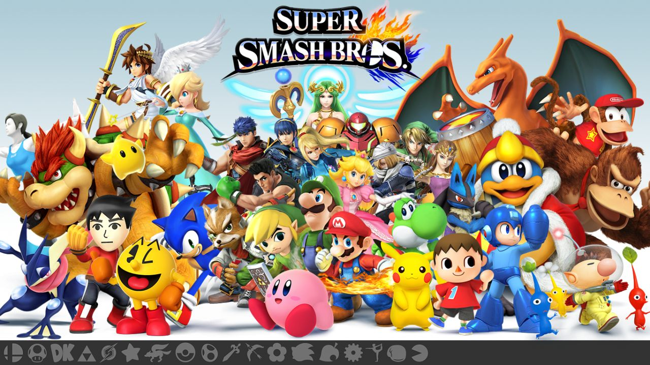 Super Smash Bros Wii U : Trailer de lancement !