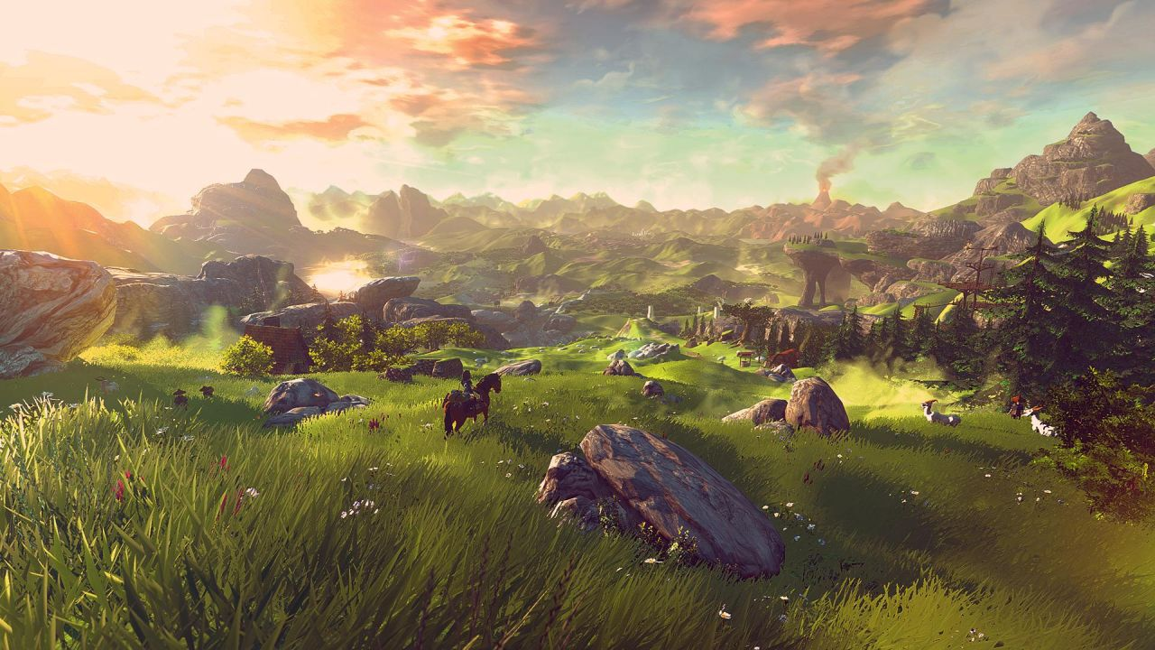 The Legend of Zelda Wii U : Une map gargantuesque ?