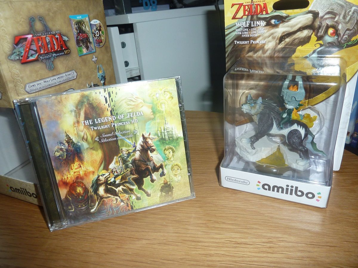 Unboxing : L'édition limitée de 'The Legend of Zelda Twilight Princess HD' sur Wii U