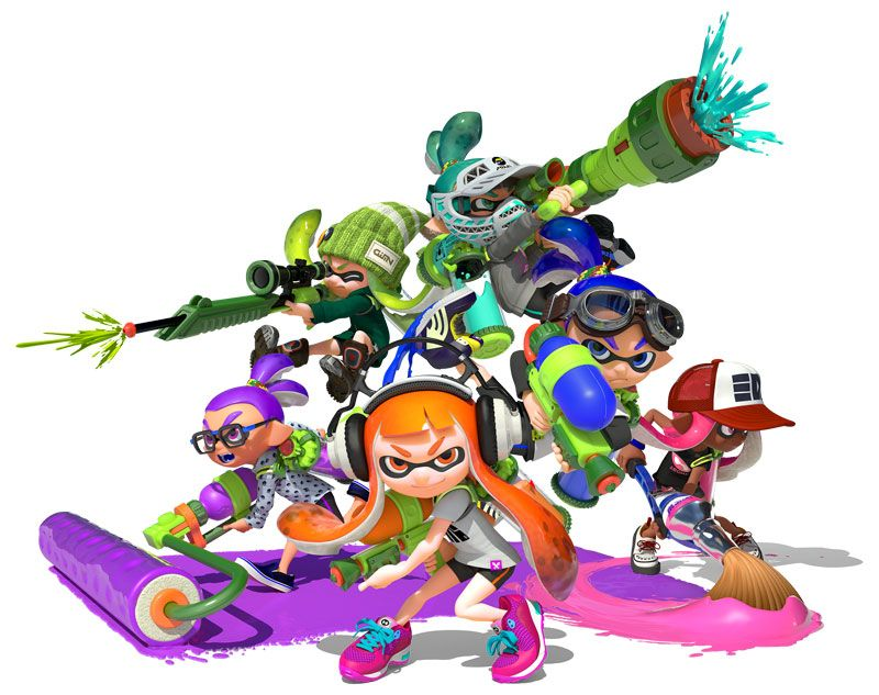 Splatoon : On passe à la version 2.9.0 !