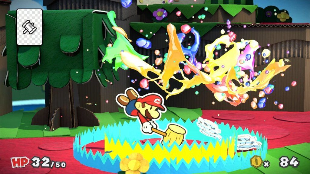 Paper Mario Color Splash : Le nouveau trailer de Nintendo