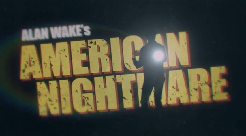 Alan Wake's American Nightmare annoncé aux Video Game Awards