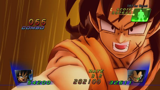 Dragon Ball Z Kinect : Le plein d'images !