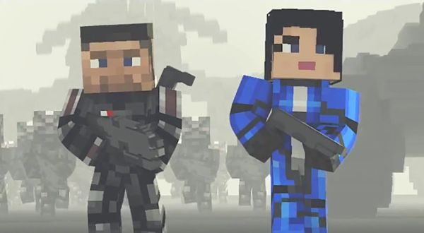 Minecraft 360 : Pack spécial Mass Effect