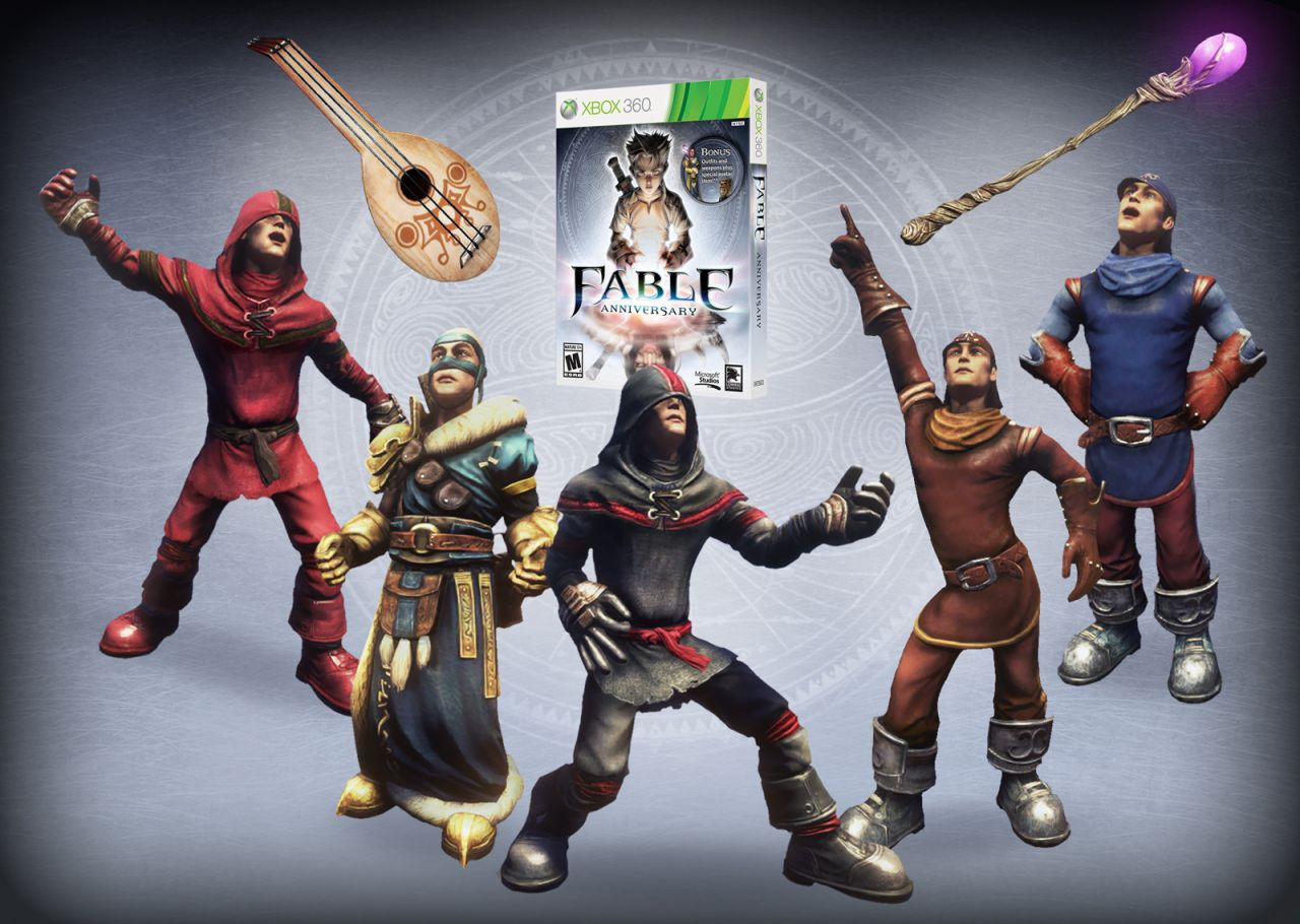Fable Anniversary : images comparant l'opus XBOX