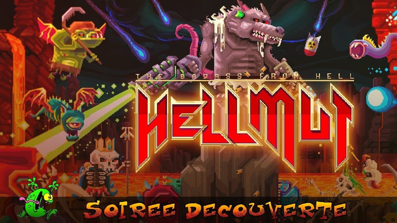 Hellmut - Le badass de l'enfer : Un nouveau Rogue-like disponible sur Xbox One !