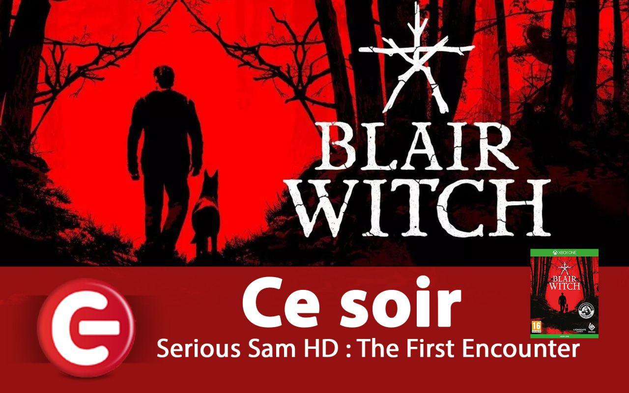 Soirée Blair Witch sur Xbox One X avec ConsoleFun.FR - ce soir à 21h30 !
