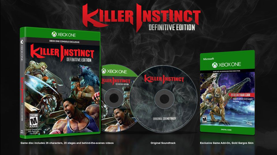 Killer Instinct : Une definitive edition leakée