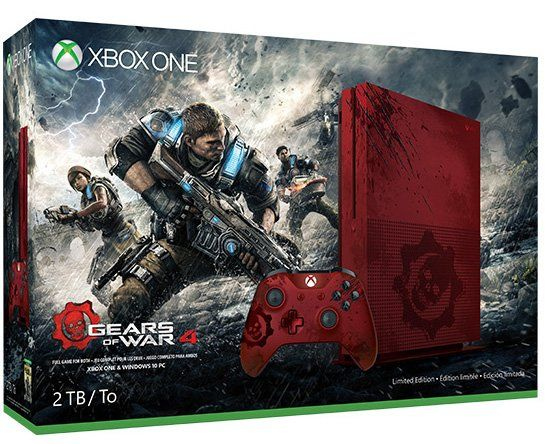 Xbox One S : Un pack avec Gears of War 4