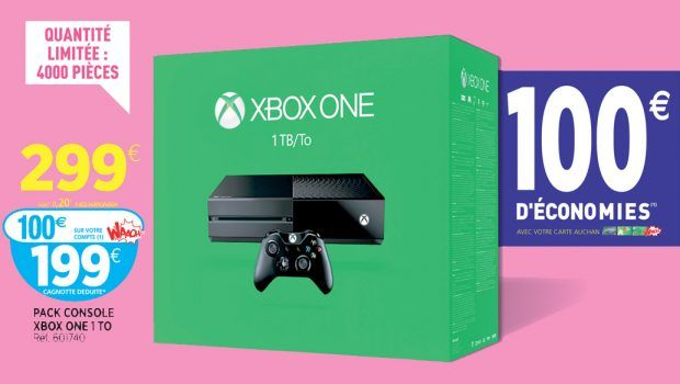 BON PLAN : Xbox One 1 To à 199 euros