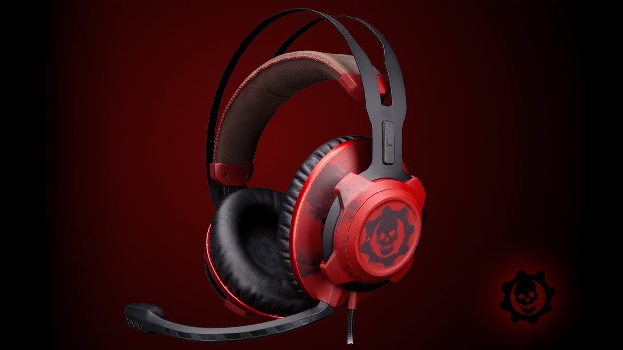 Casque Gamer : Des informations sur le CloudXTM Revolver Gears of War