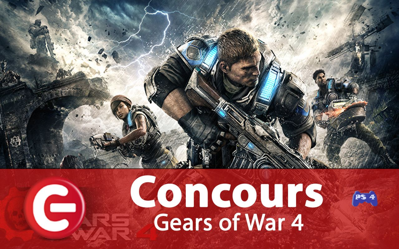 Concours ConsoleFun : Gagnez un 'Gear Pack' pour Gears of War 4 (Xbox One)