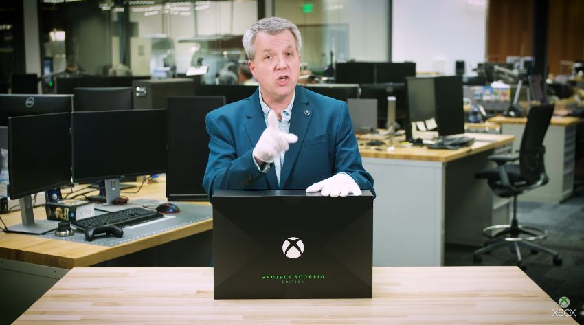 UNBOXING : Xbox One X - Project Scorpio Edition par Major Nelson !