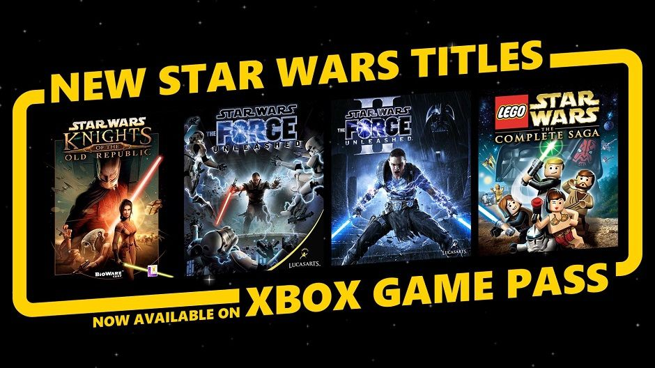 Xbox Game Pass : Quatre jeux 'Star Wars' intégrés au catalogue !