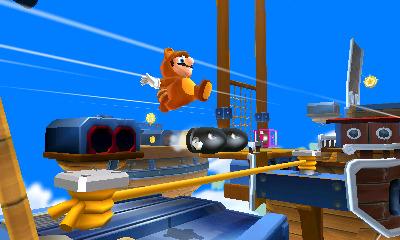 Testé en solo Super Mario 3D Land sur Nintendo 3DS