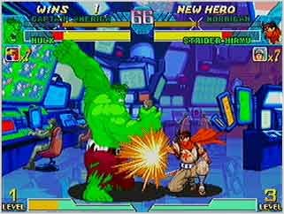 Marvel vs Capcom : Clash of the Super Heroes