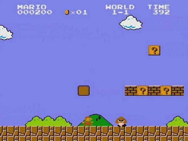 Super Mario Bros 1