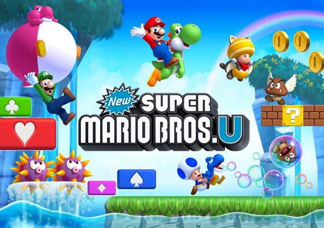 Test New Super Mario Bros. U