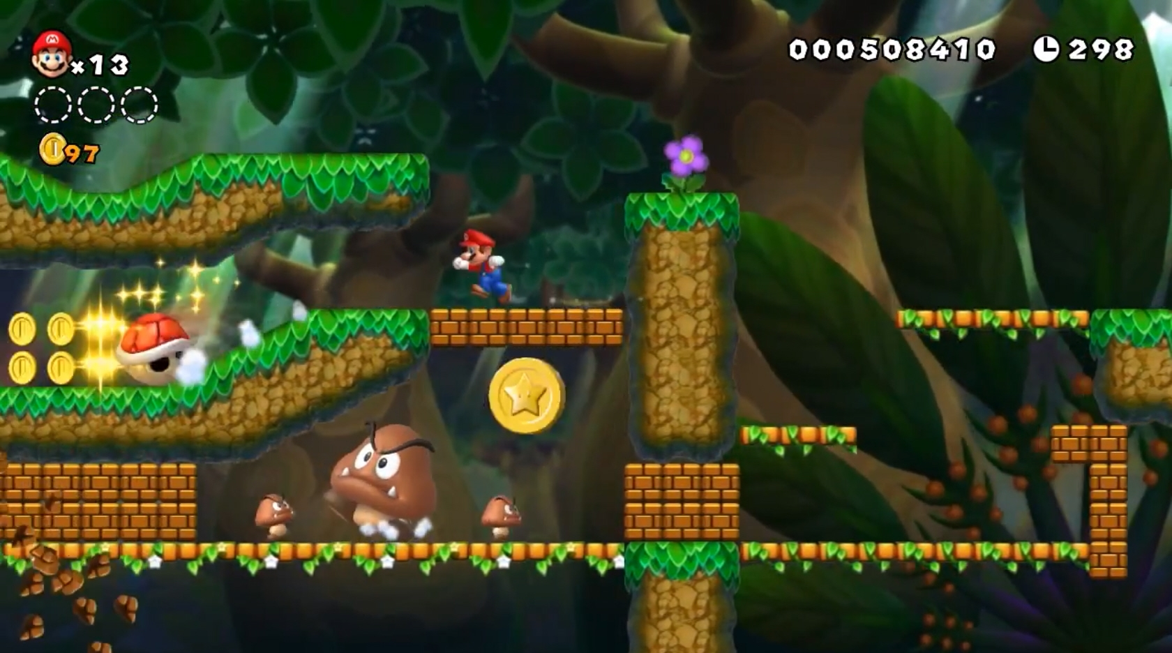 Tiens ? On dirait le monde Grande Petit de Mario 64