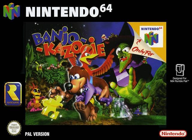 Test Banjo-Kazooie