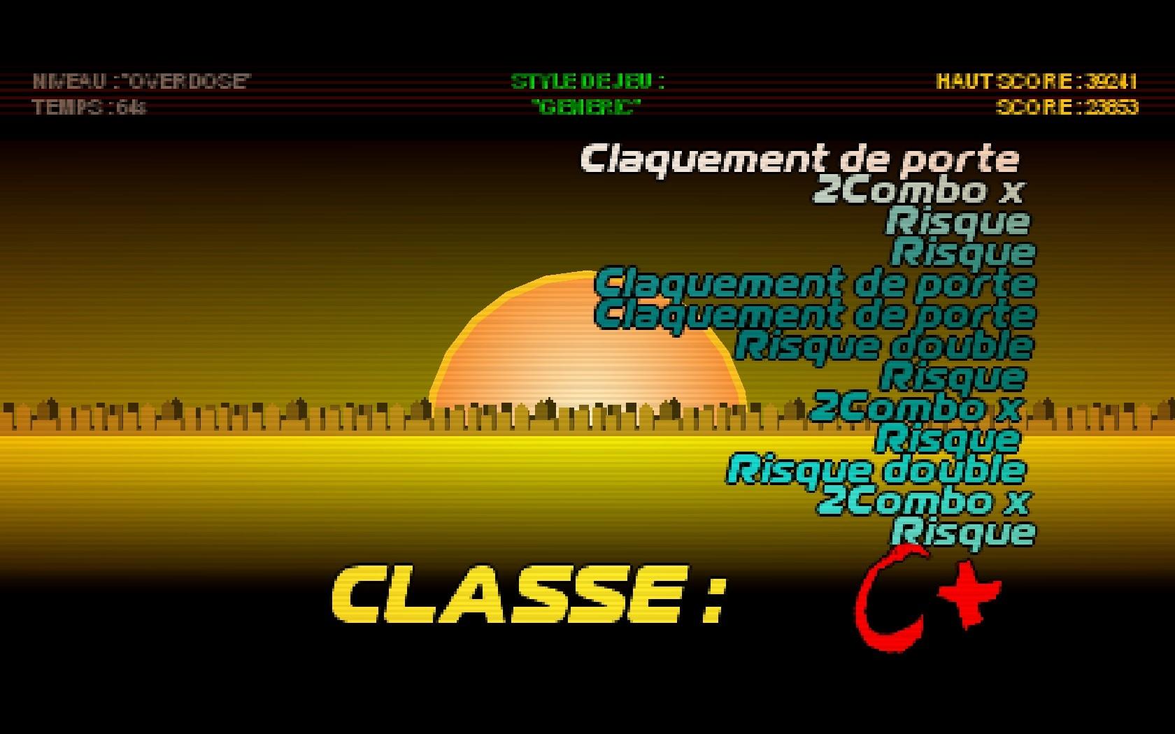 Classe : C+