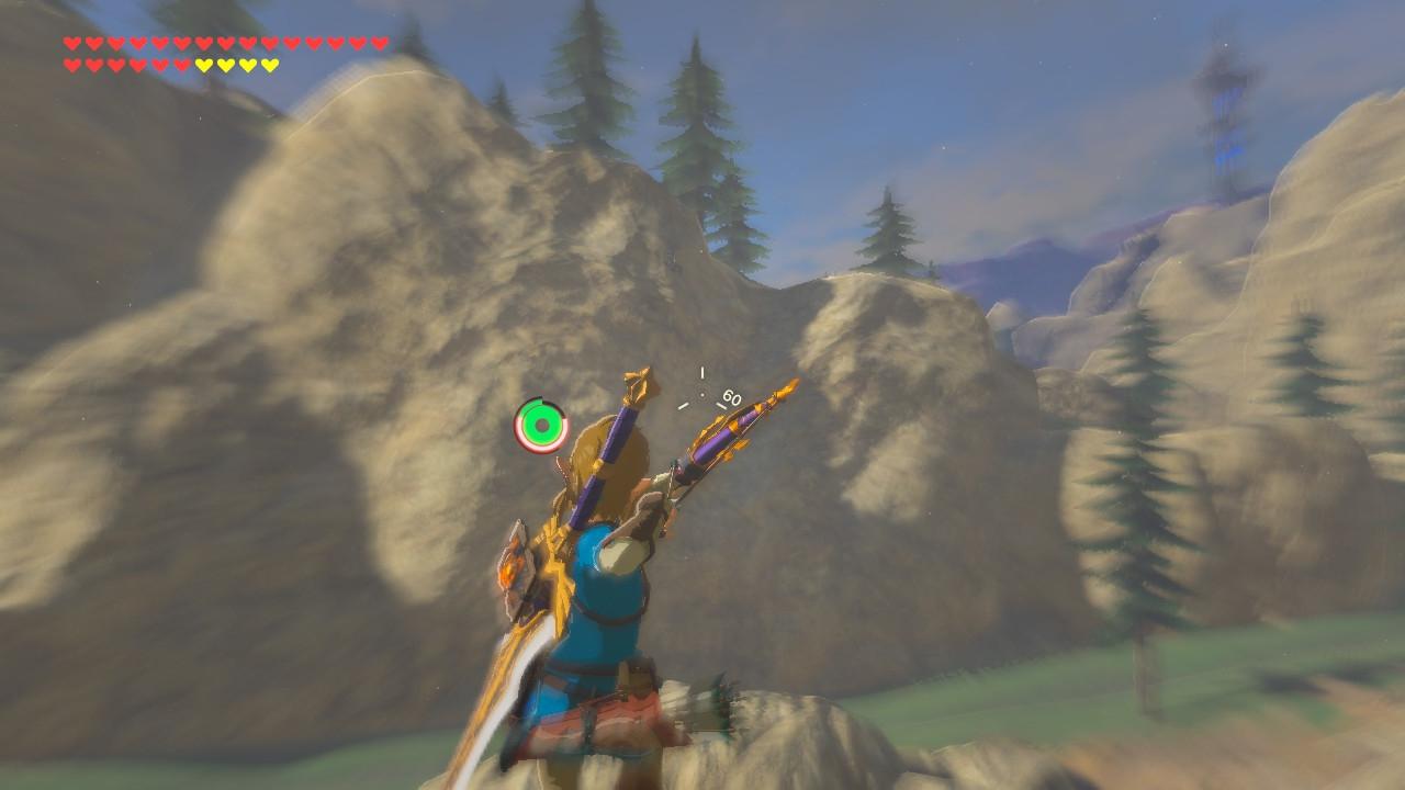 L'utilisation de l'arc en plein air
