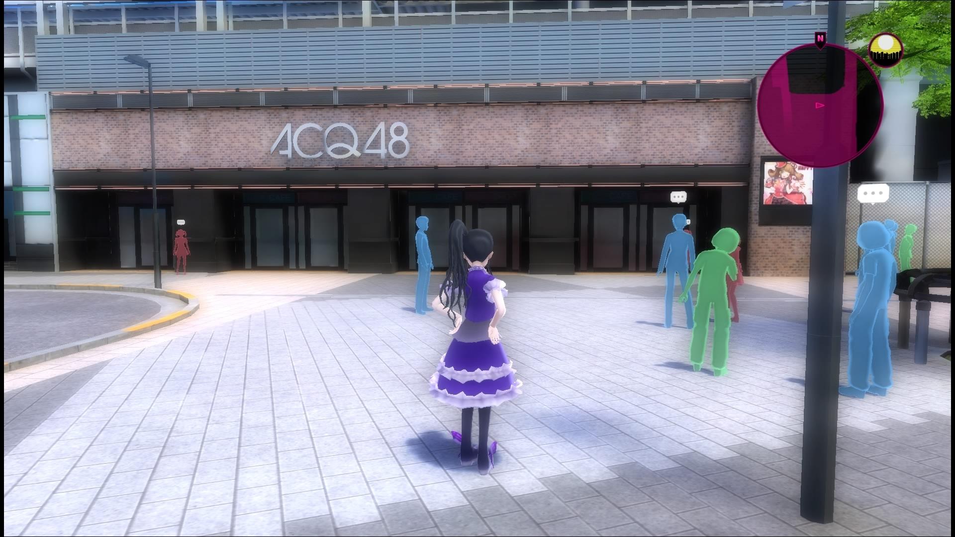 Clin d'oeil au groupe d'idols AKB48 qui a ses quartiers à Akihabara