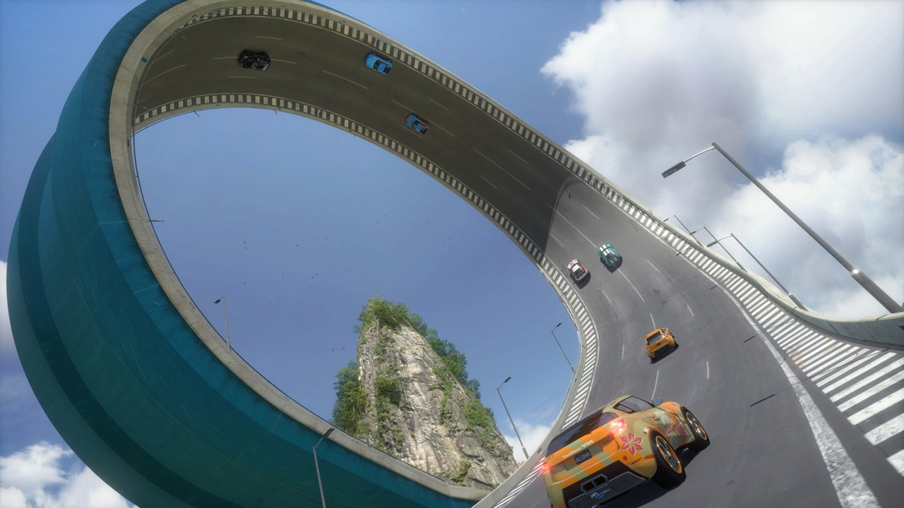 Trackmania 2 Lagoon capture d'écran