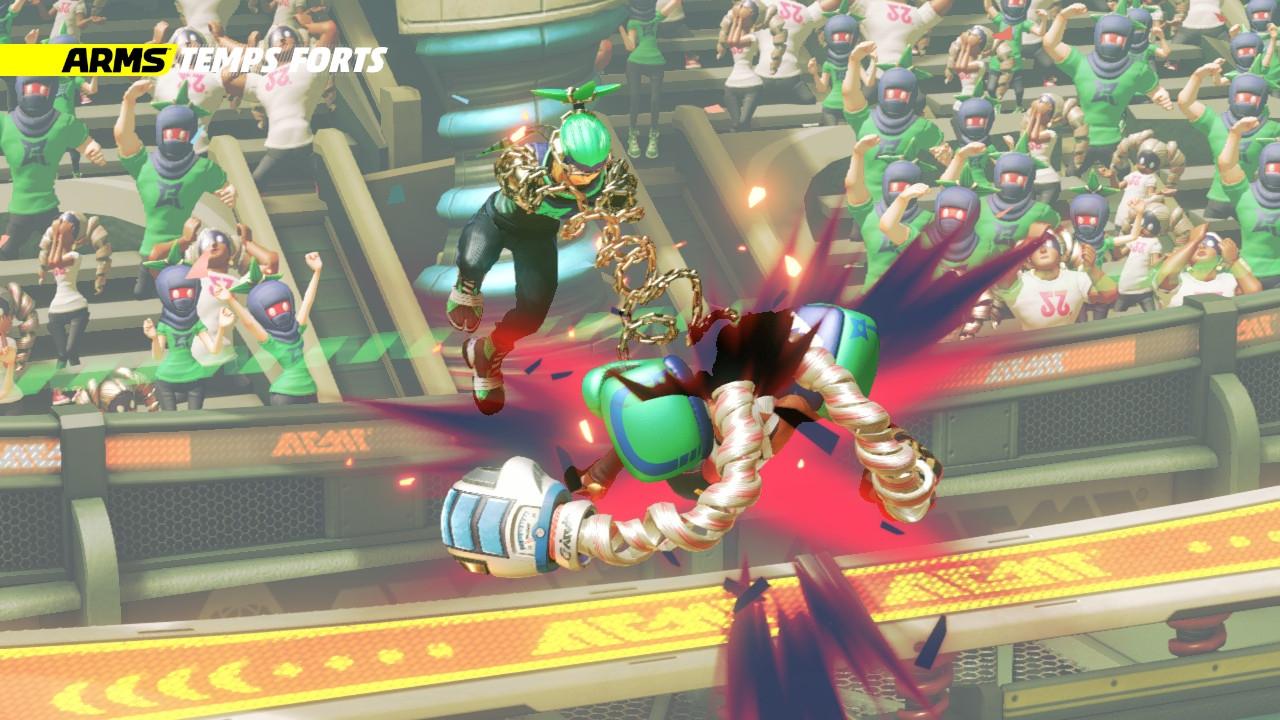 Ninjara en action