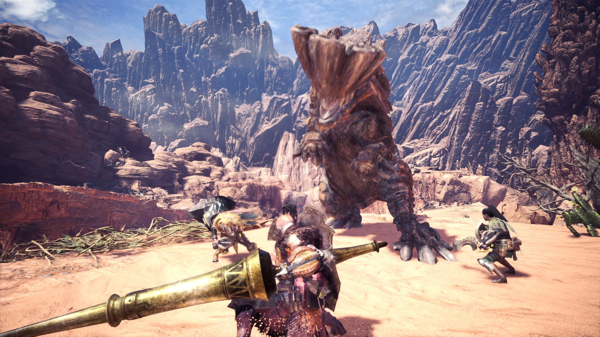 Monster Hunter World - Barroth