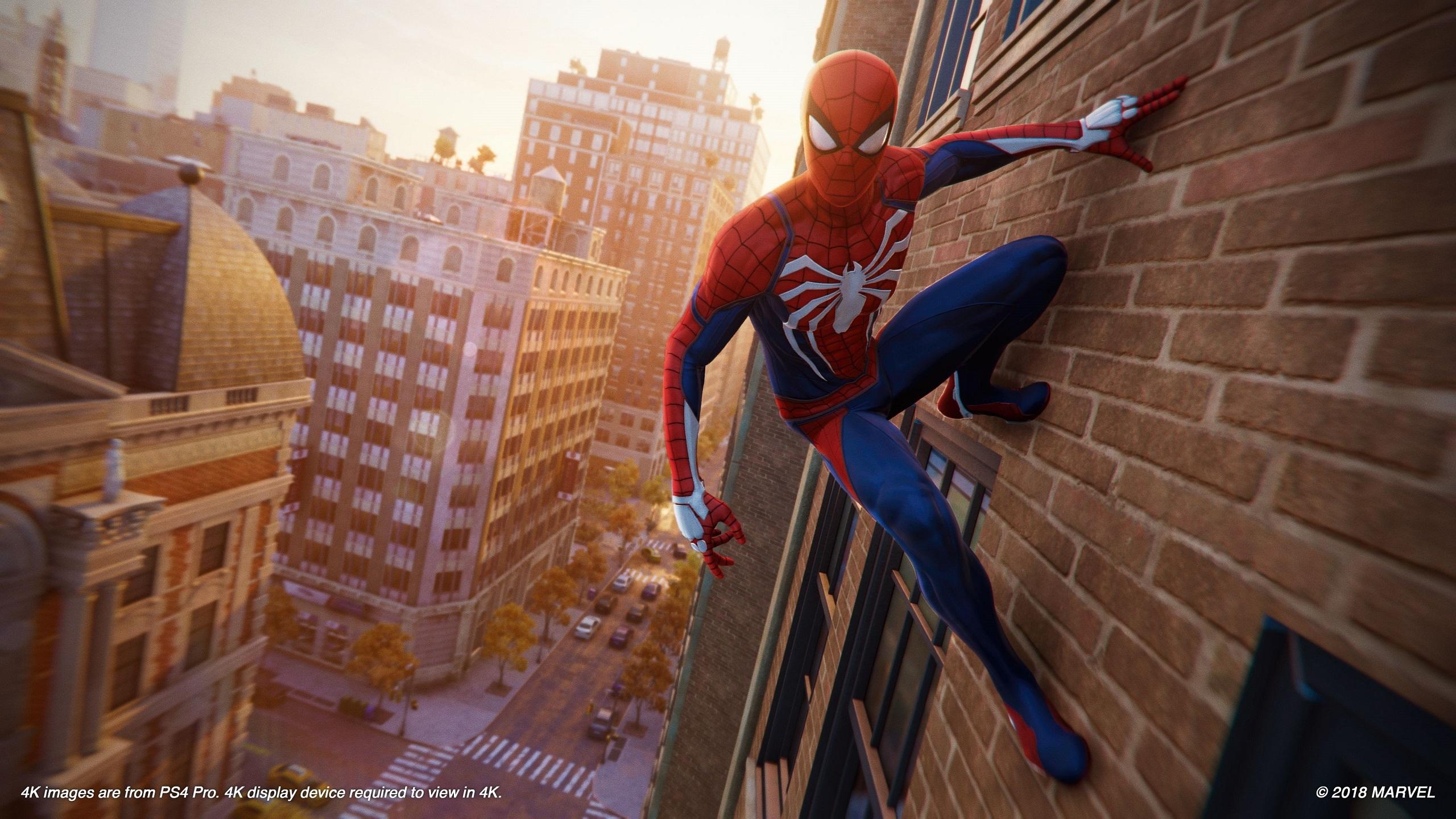 Spiderman Ps4 Nouvelles Images 4k Videos Et Liste Des