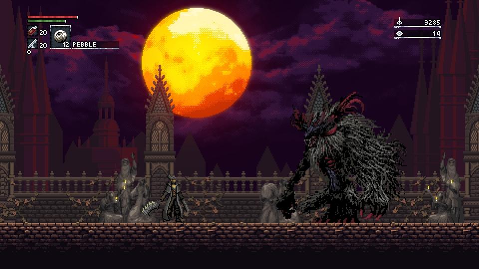 Bloodborne Pixel Art
